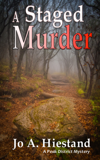 Book Cover A Staged Murder front cover copy